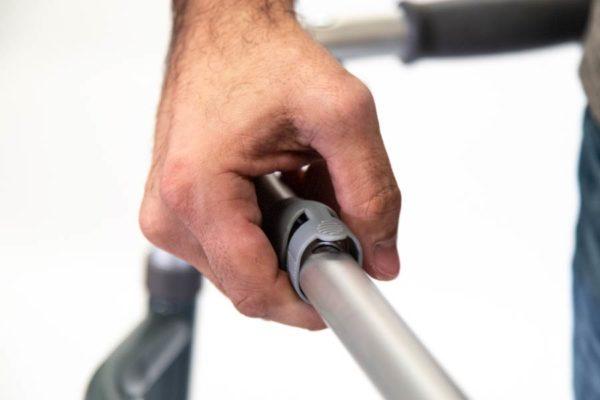 """Andador ortopédico plegable con ruedas 5"""""""
