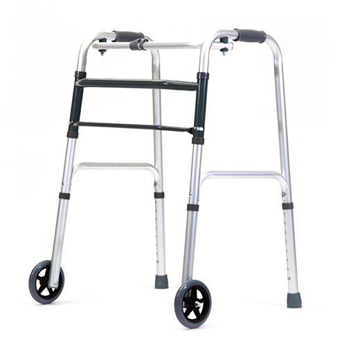 3400-000 - Andador Ortopédico plegable con ruedas 5''
