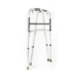 Andador ortopédico plegable con simple articulación