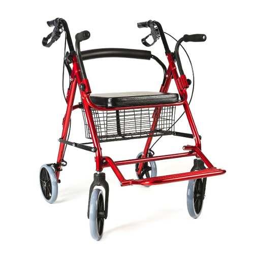 Andador ortopédico plegable 4 ruedas multifunción