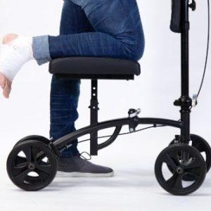 Andador ortopédico de rodilla