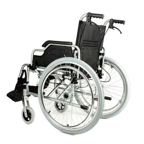 Silla de ruedas de aluminio