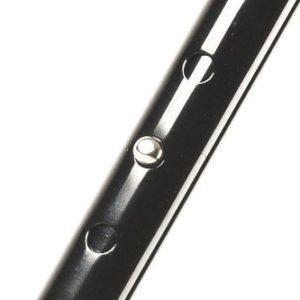 Bastón ortopédico inclinado de aluminio