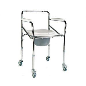 3924-000 Silla con Inodoro con ruedas