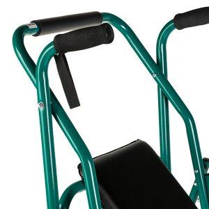 3975-000 Andador de aluminio con ruedas y asiento Eco