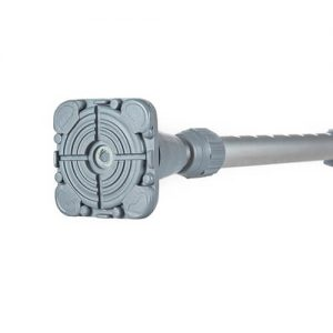 9961-000 Bastón de aluminio mango en T - Gris