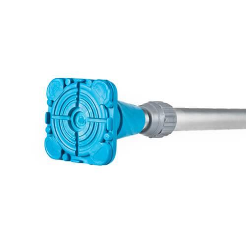 9962-000 Bastón de aluminio mango en T - Azul