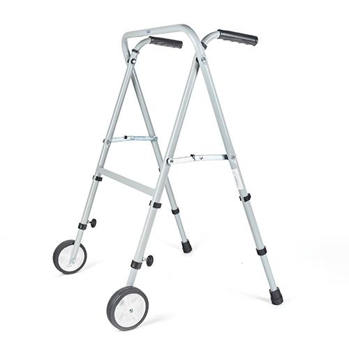 9965-000 Andador de acero tijera con ruedas