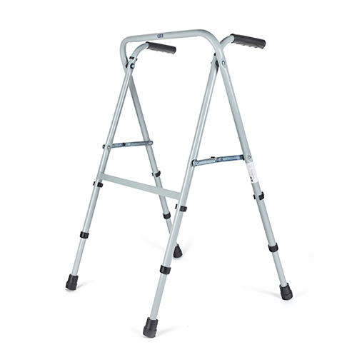 9966-000 Andador de acero tijera sin ruedas