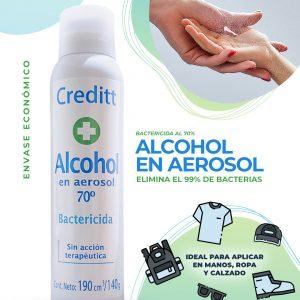 78531-000 - Alcohol en aerosol Bactericida al 70%